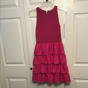 RACHEL BY RACHEL ROY Pink ruffled dress 4